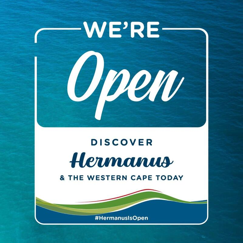 Hermanus is Open - near Cape Town, South Africa